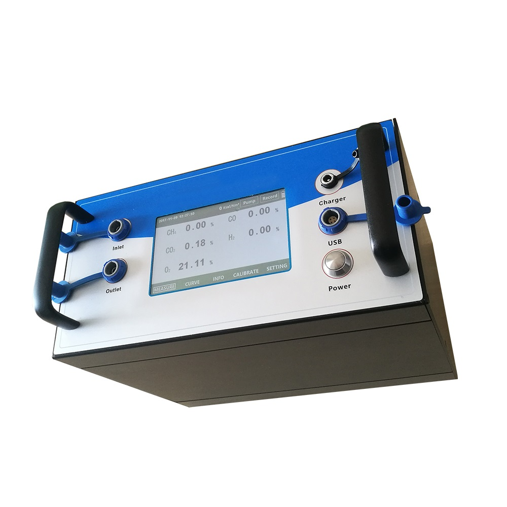Multi-gas Analyzer CH4/CO2/CO/H2/O2/CxHy with USB Output